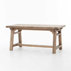 Spanish Reclaimed Wood Extension Dining Table