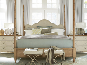 French Modern King Four Poster Bed Frames