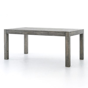 Parsons Reclaimed Wood Dining Table 71'' - Grey