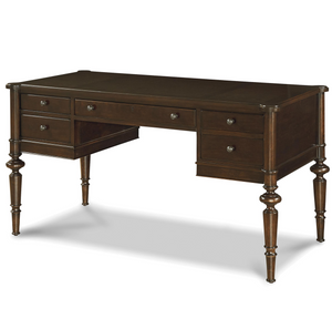 Proximity Cherry Wood 4 Drawers Writing Desk