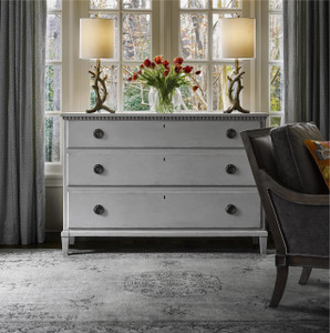 Sojourn French Country 3 Drawer Dresser - Gray