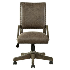 Soho Kids Swivel Leather Desk Chair