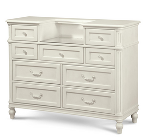 Rosalie Kids 9 Drawers Vanity Chest - White