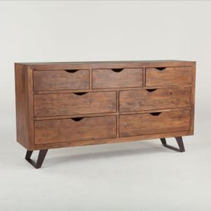 Brooklyn Loft Solid Wood 7 Drawer Dresser