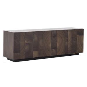 """Tabor Parquet Wooden 4 Door Sideboard Cabinet 90"""""""