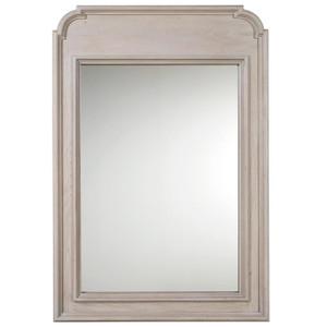 Belgian Cottage Carved Bedrom Dresser Mirror
