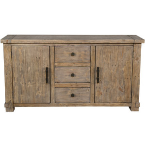 Farmhouse Reclaimed Wood Buffet Sideboard 63""