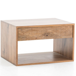 Lucas Reclaimed Peroba Wood Side Table