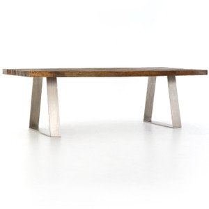 Parker Reclaimed Peroba Wood Dining Table 96""