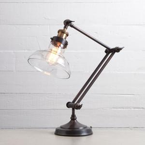 Percy Restoration Bronze Desk Task Lamp
