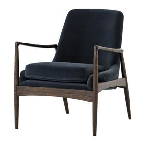 Braden Mid-Century Modern Velvet Club Chair