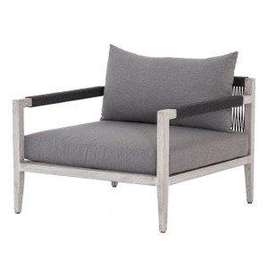 Sherwood Grey Teak Outdoor Club Chair