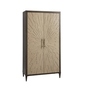 Soliloquy 2 Doors Starburst Wardrobe Armoire