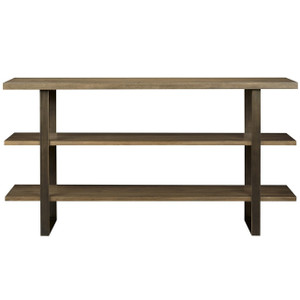 Roland Bronze Metal + Wood Media Console 64""