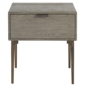 Gabby Modern Oak 1-Drawer Nightstand