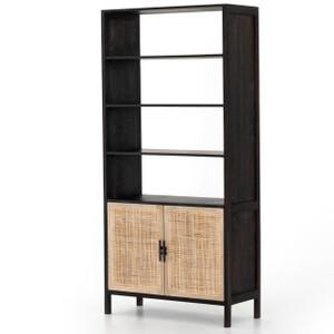 Audrey Woven Wicker Door Bookshelf