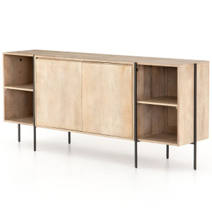 Coastal Industrial Buffet Sideboard 73""