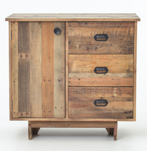 ... Angora Reclaimed Wood Small Sideboard With Drawers ...