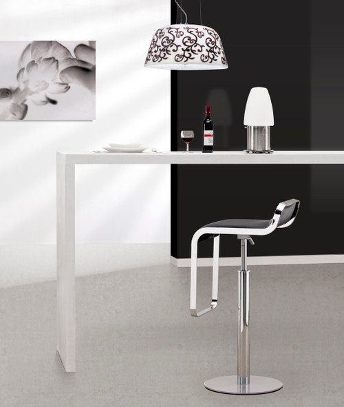Equino Bar Stool Zuo Modern Lem Bar Piston Stool Zin Home