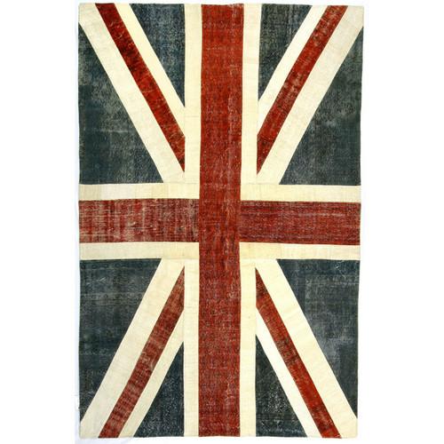 Union Jack Turkish Patchwork Rugs