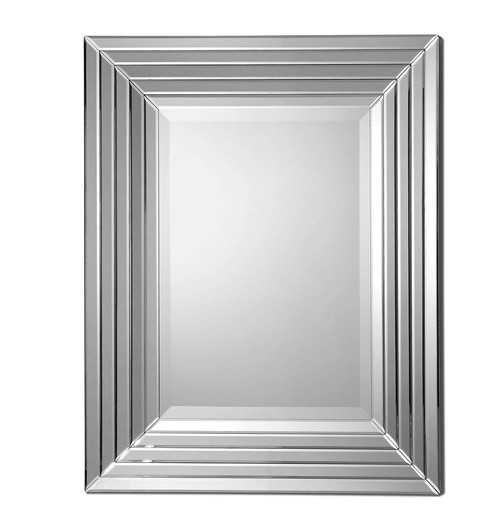 Ikona Mirrored Frame Wall Mirror | Zin Home
