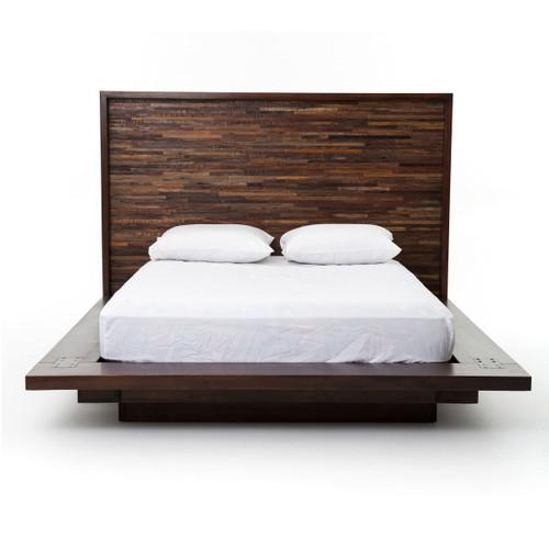 ... Devon Reclaimed Wood King Platform Bed Frame ...