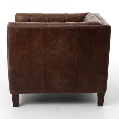 ... Club Chair; Abbott Vintage Cigar Leather Armchair ...