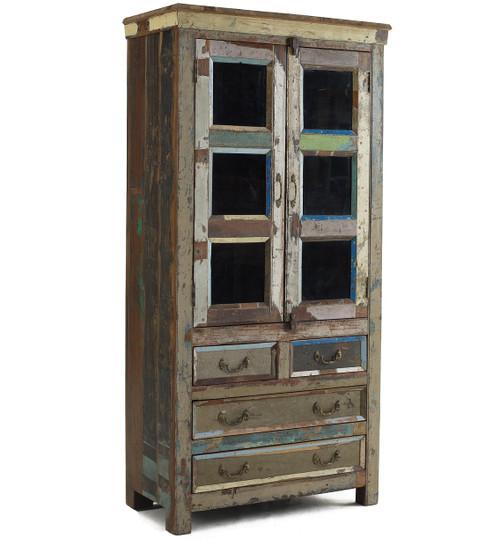 Shabby Chic Hutch Cabinet