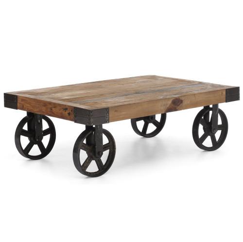 Barbary Coast Factory Cart Table ...