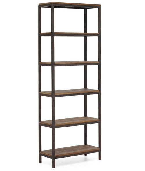 coaster kitchen metal book tier ac black com shelves five dp shelf bookcase amazon