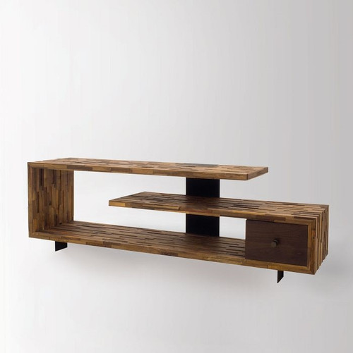 Jonah Reclaimed Wood TV Console Table