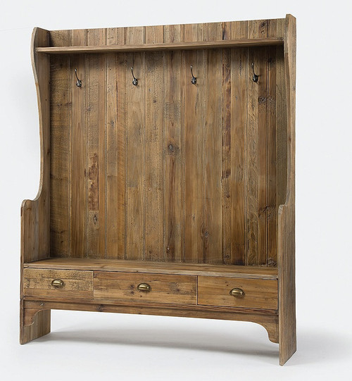 ... Reclaimed Solid Wood Entryway Benches ...