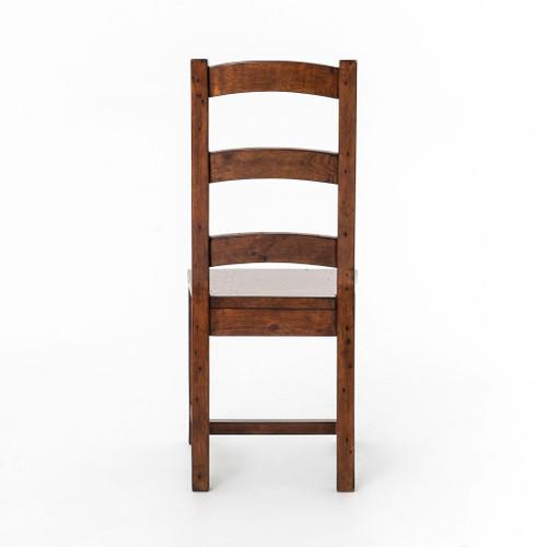 Coastal Rustic Reclaimed Wood Dining Room Chair Zin Home