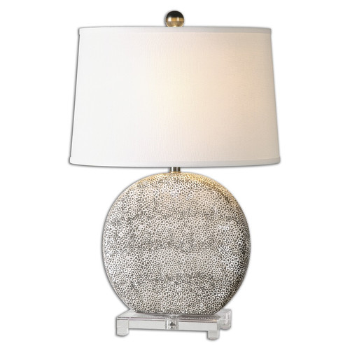 Uttermost Albinus Ivory Ceramic Table Lamp Zin Home