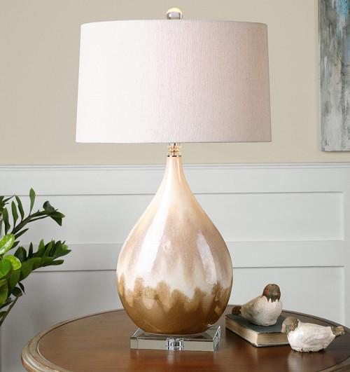 Flavian Glazed Ceramic Table Lamp