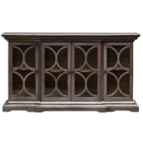 Belino 4 Door solid wood sideboard cabinet buffet
