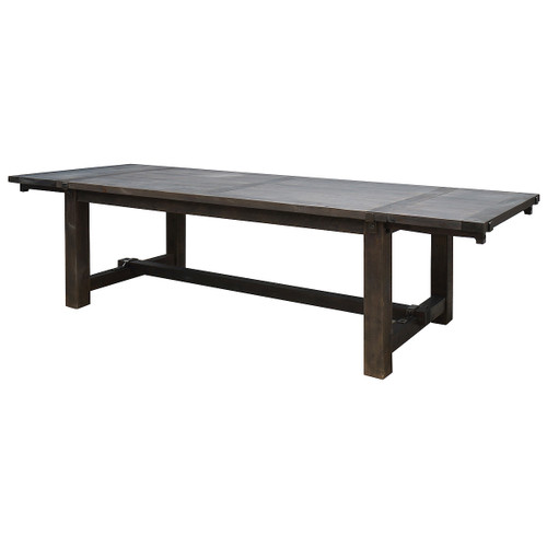 """Barn House Solid Wood Rustic Dining Room Table 98"""""""