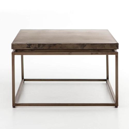 Roman Box Frame Industrial Iron Coffee Table