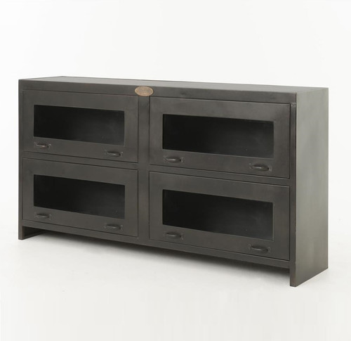 ... ROCKWELL MEDIA CABINET ANTIQUE IRON,IRCK MC 214 ...