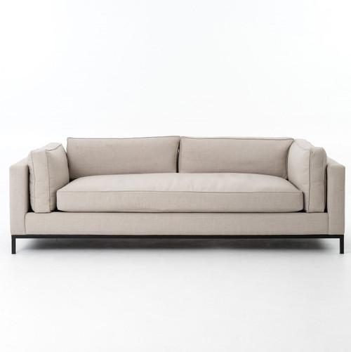 Grammercy Modern Linen Sofa; Grammercy Modern Linen Upholstered Sofa;  Atelier Grammercy Sofa UATR 002 ...
