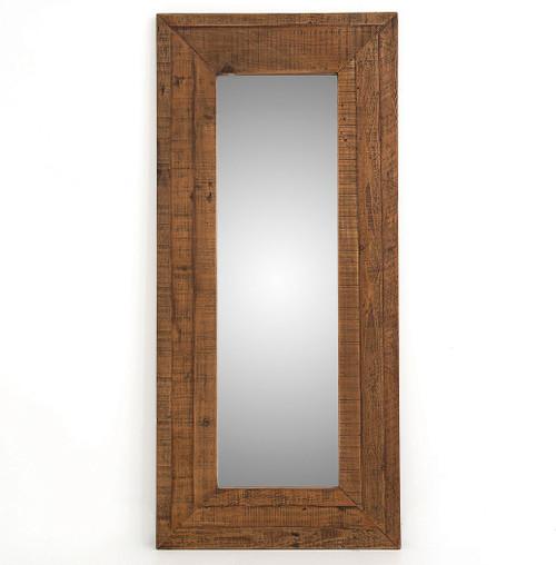 Berlin Mix Reclaimed Wood Floor Mirror | Zin Home