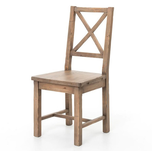 Exceptionnel Coastal Rustic Solid Wood Dining Room Chair