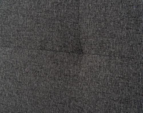 Metropolitan Charcoal Wingback Upholstered Queen Bed Zin