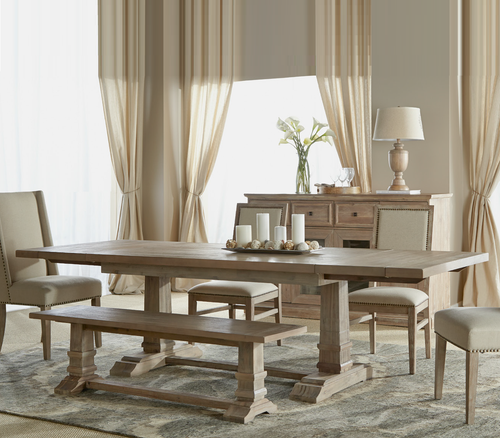 Rectangular Dining Room Tables Reclaimed And Salvaged Wood Dining - Refurbished wood dining room table