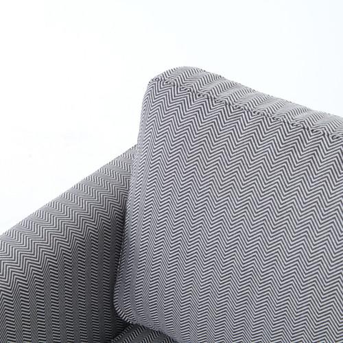 Pivot Upholstered Swivel Chair Zin Home