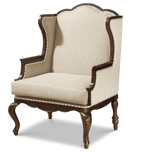Sonoma Wingback Upholstered Host Hostess Chair