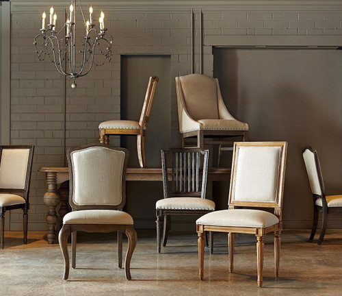 Merveilleux ... Vintage French Dining Chairs