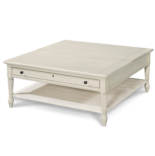 ... Lift Top · Country Chic White Wood Square Flip Top Coffee Table ...