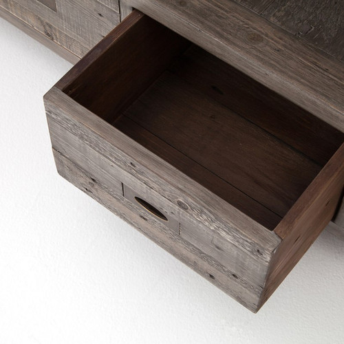 Parsons Reclaimed Wood Tv Media Console Grey Zin Home