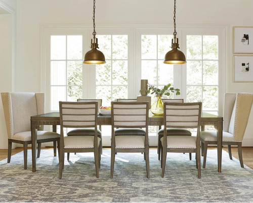 ... Playlist Vintage Oak Upholstered Host And Hostess Chairs